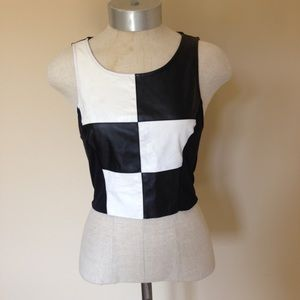UO Coincidence and Chance checkered tank crop top